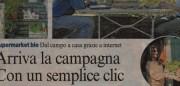 """Solmeo su Corriere della Sera """"La campagna con un clic"""""""