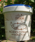 Acido citrico Officina Naturae