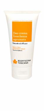 Deo Crema Agrumata Biofficina