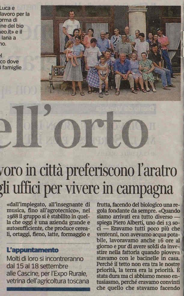 Corriere Della Sera Fuga nell orto 2