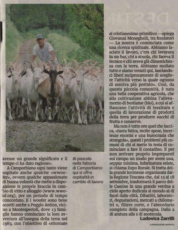 Corriere Della Sera Fuga nell orto 3